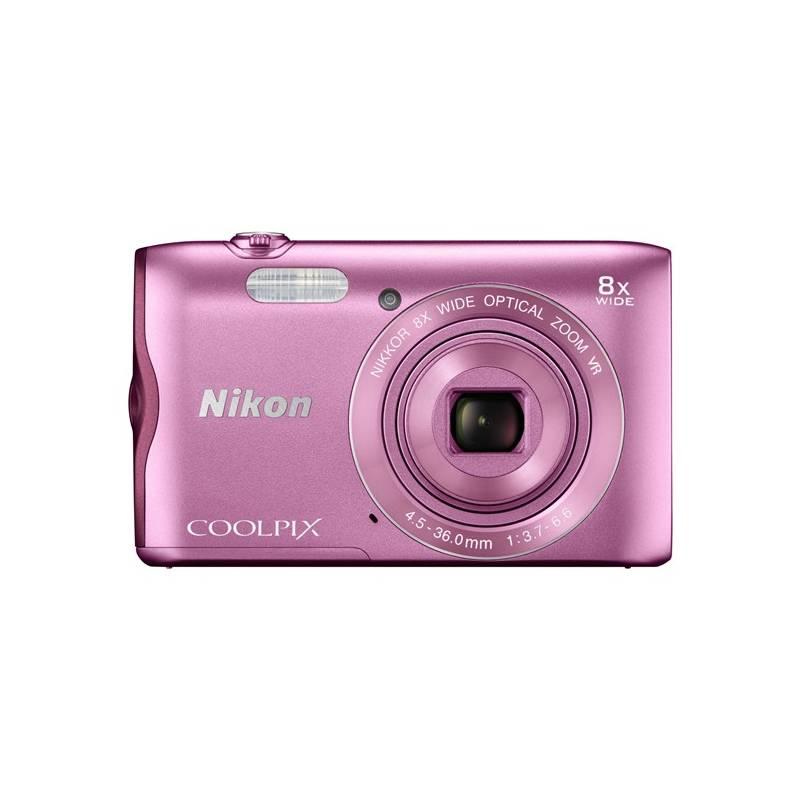 Digitálny fotoaparát Nikon Coolpix A300 ružový