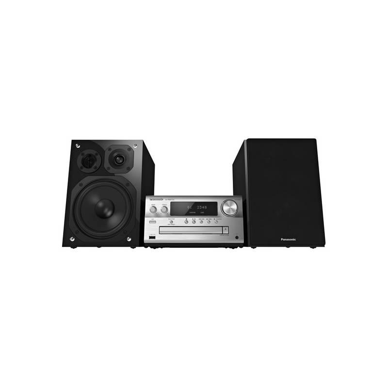 Mikro HiFi systém Panasonic SC-PMX152EG-S (SC-PMX152EGS) strieborná + Doprava zadarmo