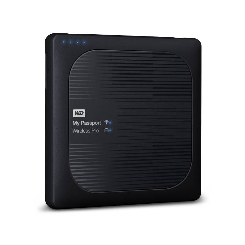 Externý pevný disk Western Digital My Passport Wireless Pro 3TB (WDBSMT0030BBK-EESN) čierny