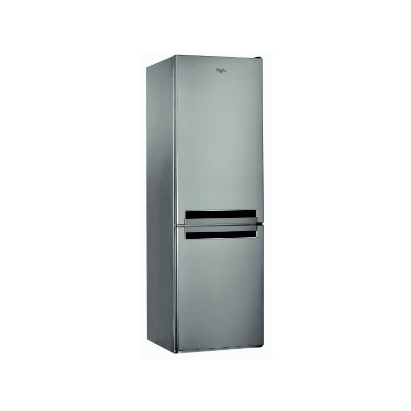 Kombinácia chladničky s mrazničkou Whirlpool BSF 8353 OX nerez + dodatočná zľava 10 % + Doprava zadarmo