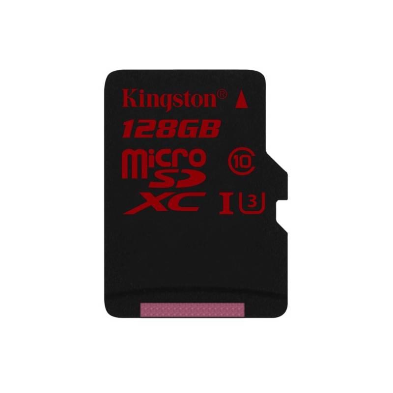 Pamäťová karta Kingston MicroSDXC 128GB UHS-I U3 (90R/80W) (SDCA3/128GBSP)
