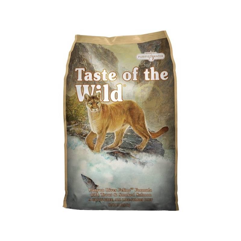 Granuly Taste of the Wild Canyon River Feline 6,6 kg
