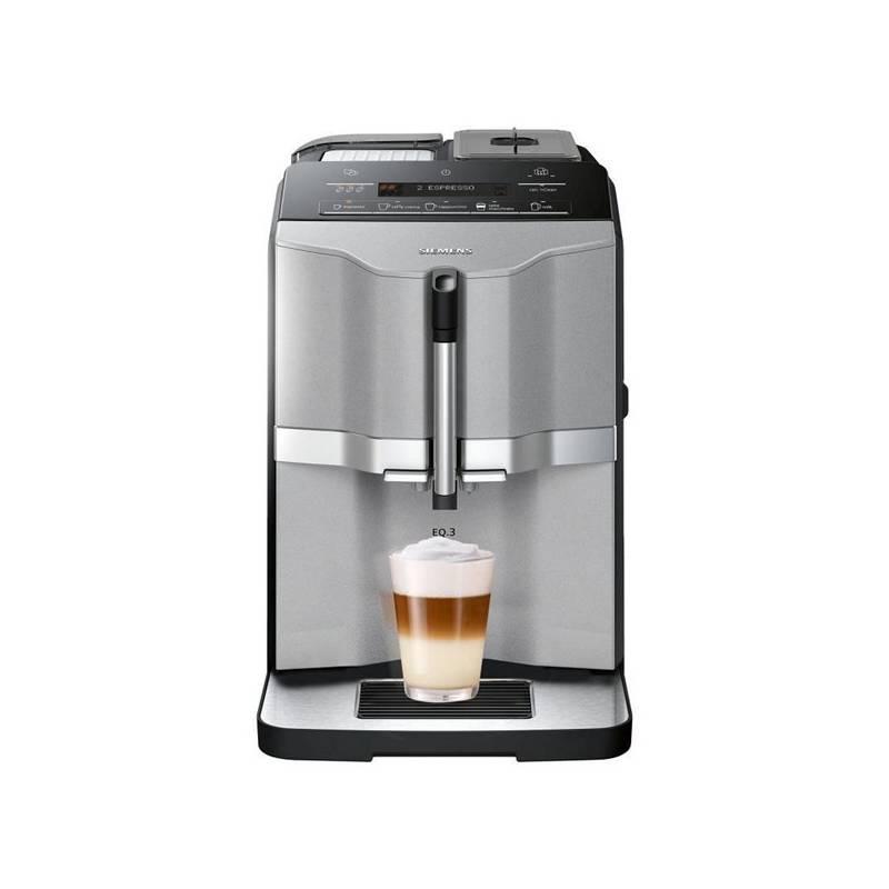 Espresso Siemens EQ.3 TI303203RW sivé