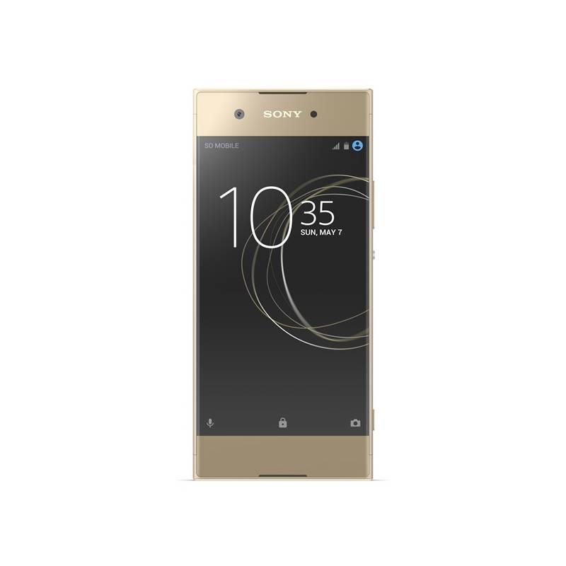 Mobilný telefón Sony Xperia XA1 (G3112) Dual SIM (1308-4516) zlatý + Doprava zadarmo