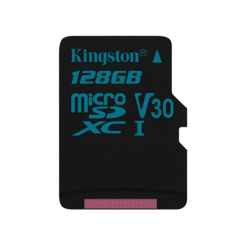 Pamäťová karta Kingston Canvas Go! MicroSDXC 128GB UHS-I U3 (90R/45W) (SDCG2/128GBSP)