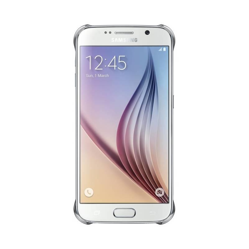 Kryt na mobil Samsung pro Galaxy S6 (EF-QG920BS) (EF-QG920BSEGWW) strieborný