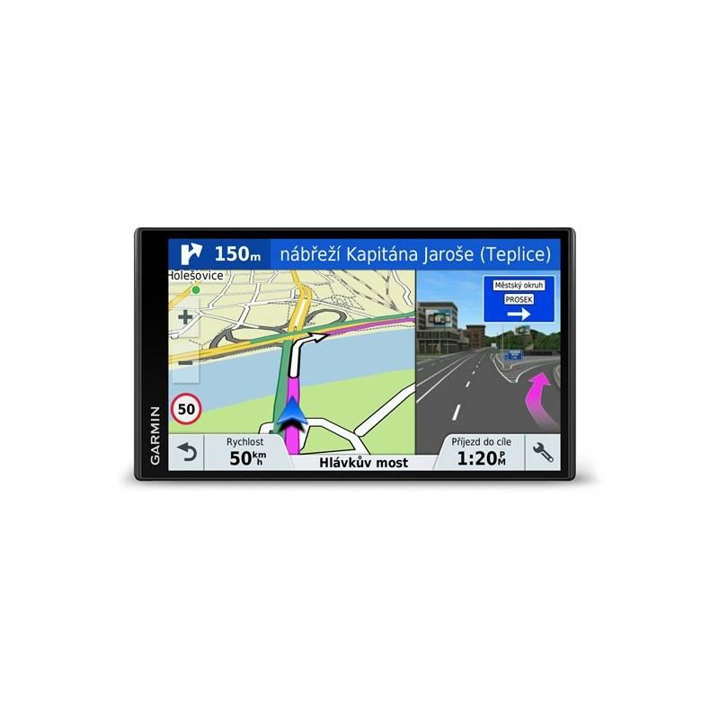 Navigačný systém GPS Garmin DriveSmart 61T-D Lifetime Europe45 (010-01681-13) čierna