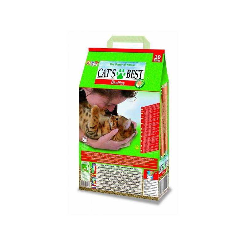 Podstielky Cats Best Oko plus 10L/4,5 kg