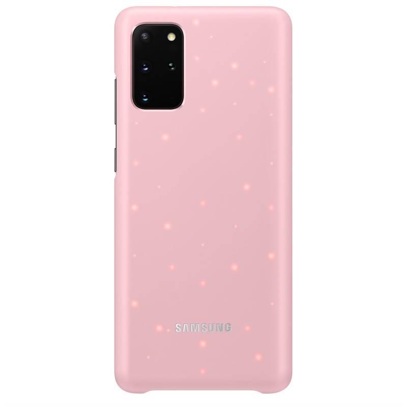 Kryt na mobil Samsung LED Cover na Galaxy S20+ (EF-KG985CPEGEU) ružový + Doprava zadarmo