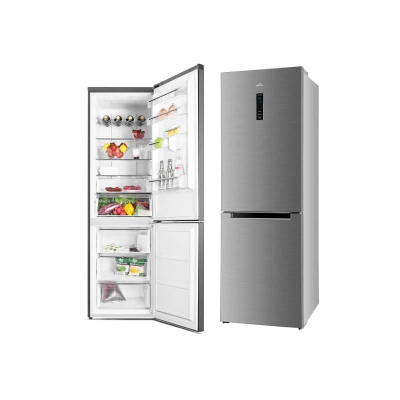 Kombinácia chladničky s mrazničkou ETA 237090010 nerez + Doprava zadarmo