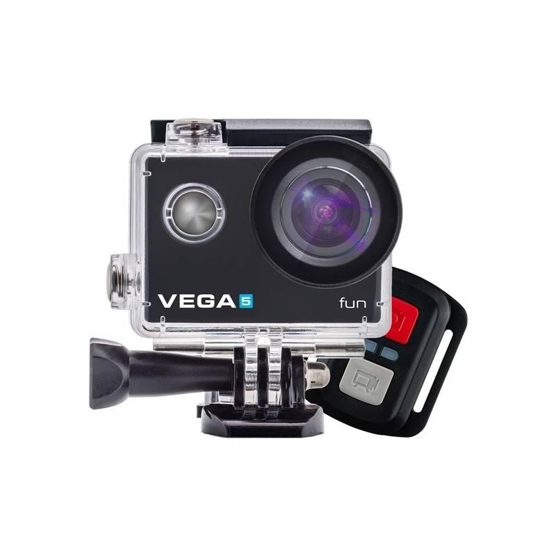 Outdoorová kamera Niceboy VEGA 5 fun + dálkové ovládání černá