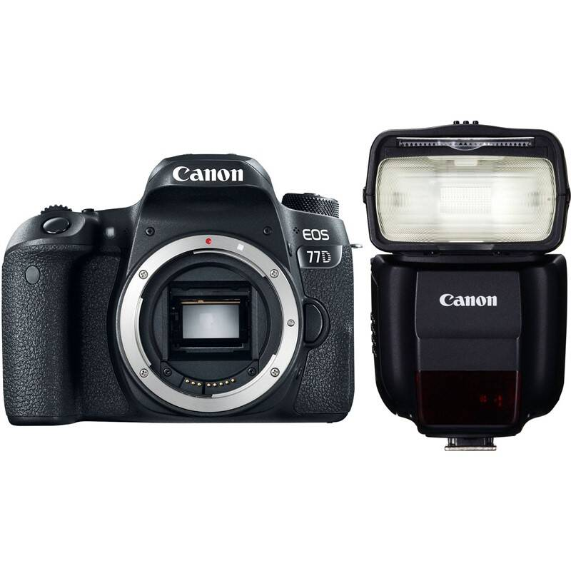Set výrobkov Canon EOS 77D + blesk 430EX III-RT + Doprava zadarmo