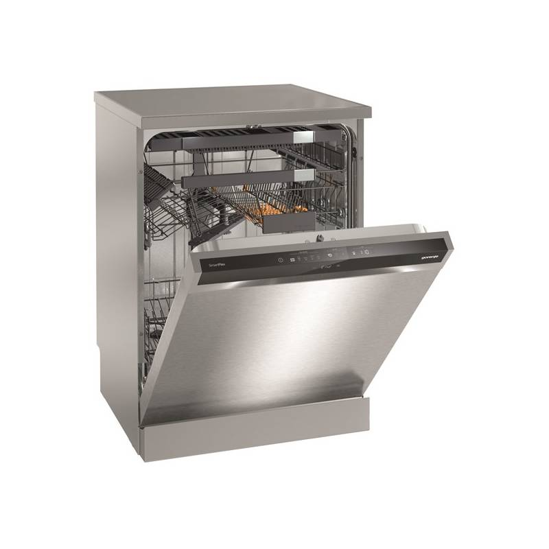 Umývačka riadu Gorenje GS66260X strieborná + dodatočná zľava 10 % + Doprava zadarmo