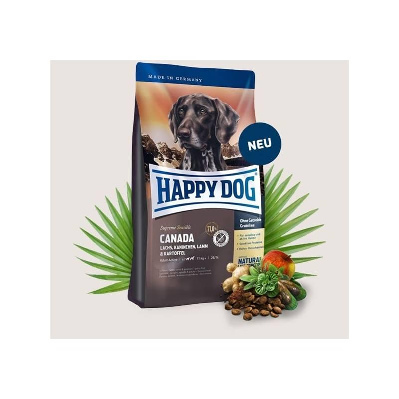 Granule HAPPY DOG CANADA Grainfree 12,5 kg Antiparazitní obojek Scalibor Protectorband pro psy - 48 cm