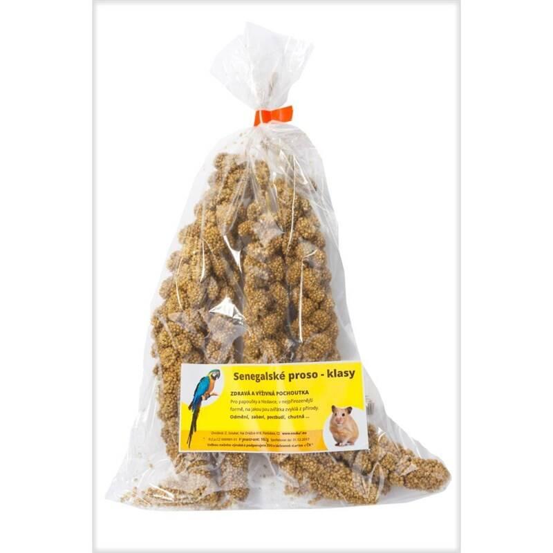 Krmivo JS senegalské proso žlté klasy 100 g