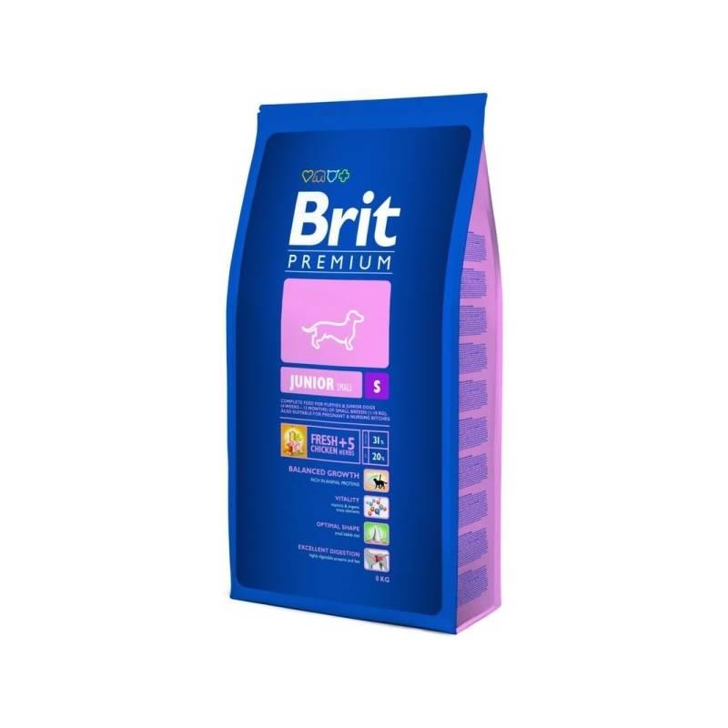 Granule Brit Premium Dog Junior S 8 kg
