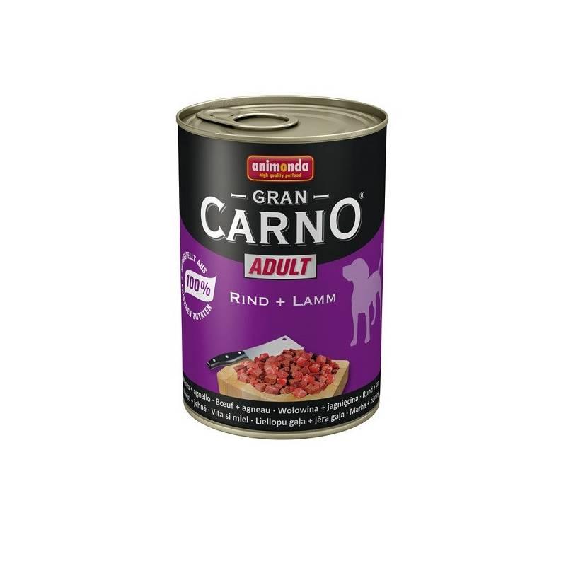 Konzerva Animonda Adult Gran Carno hovězí + jehně 400g