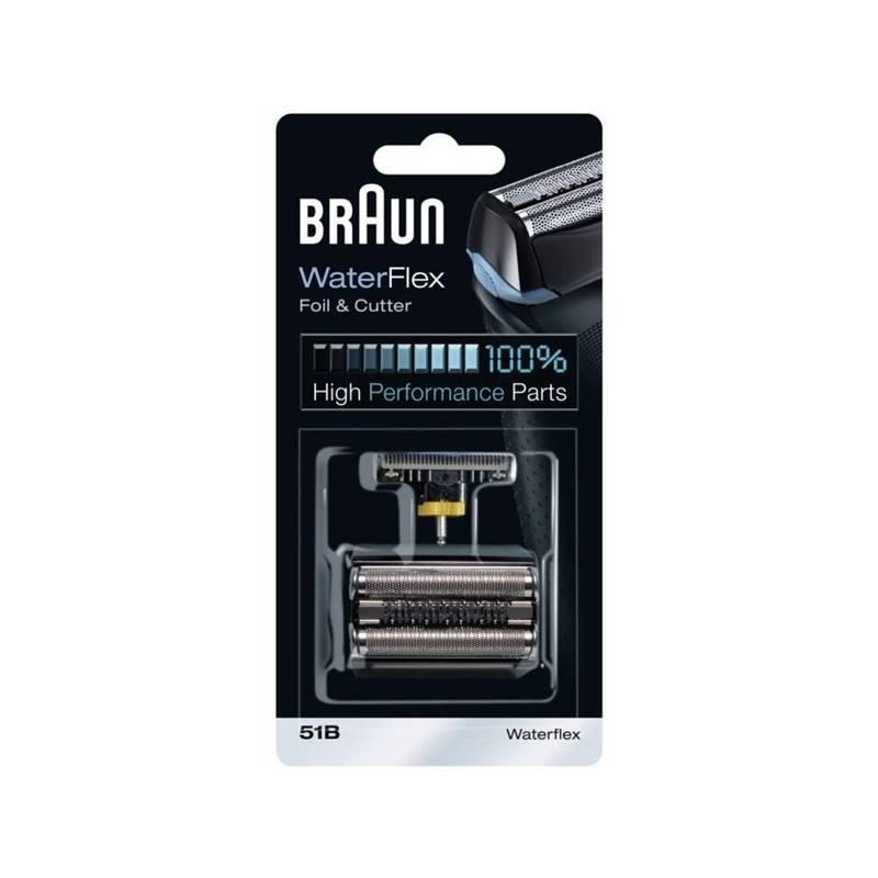Príslušenstvo pre holiace strojčeky Braun Series 5 51B čierne