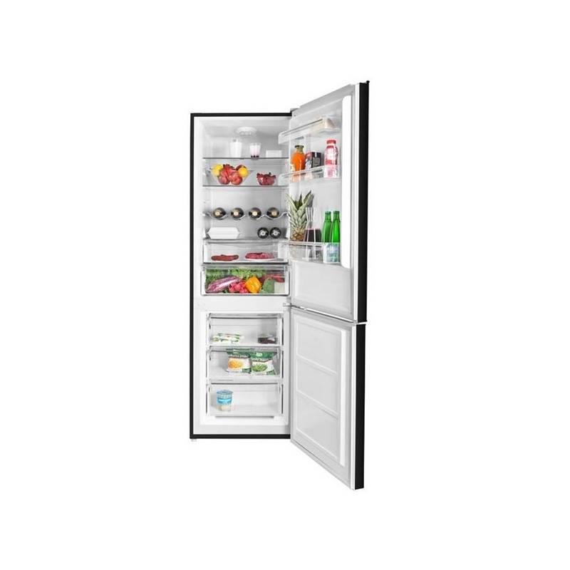 Kombinácia chladničky s mrazničkou ETA 237490020 čierna + Doprava zadarmo