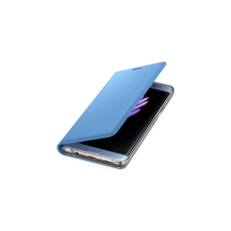 Puzdro na mobil flipové Samsung LED View Cover pro Galaxy Note 7 (EF-NN930PLEGWW) modré