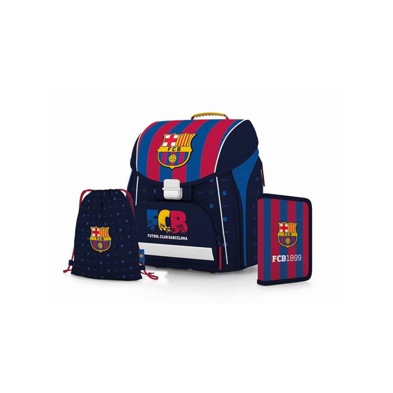 Školský set P + P Karton PREMIUM FC Barcelona Sáček na přezůvky P + P Karton OXY Neon Dark Blue (zdarma)