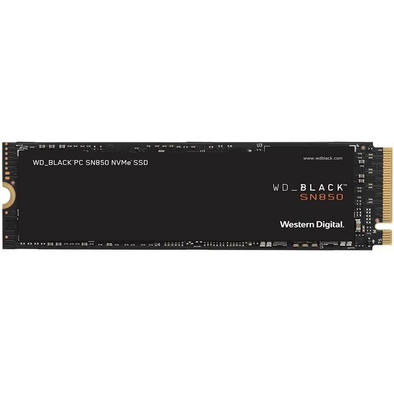 SSD Western Digital Black SN850 NVMe M.2 1TB (WDS100T1X0E)