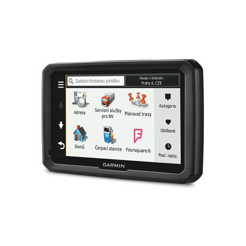Navigačný systém GPS Garmin dezl 770T Lifetime Europe45 čierna + Doprava zadarmo