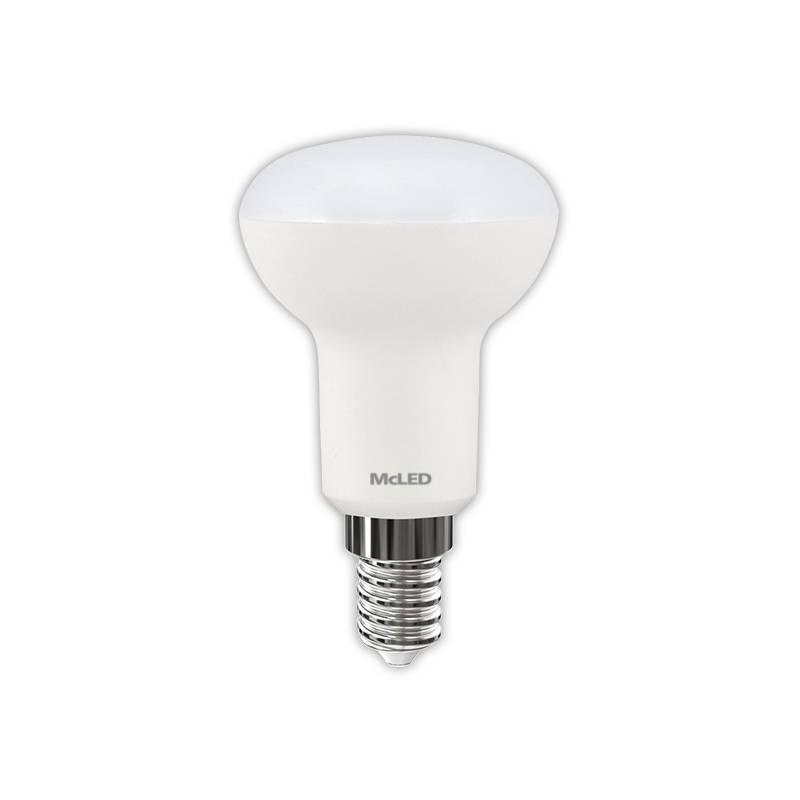 LED žiarovka McLED reflektor, 5,5W, E14, teplá bílá