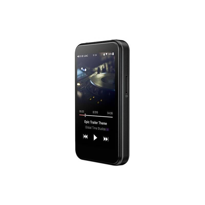 Přenosný digitální přehrávač FiiO M6 černý