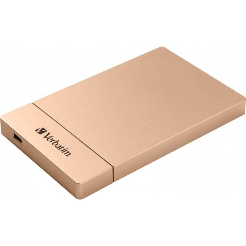 "Box na HDD Verbatim pro 2,5"" HDD SATA, USB-C / USB 3.1. Gen2 (53105) ružový + Extra zľava 10 % | kód 10HOR2020"