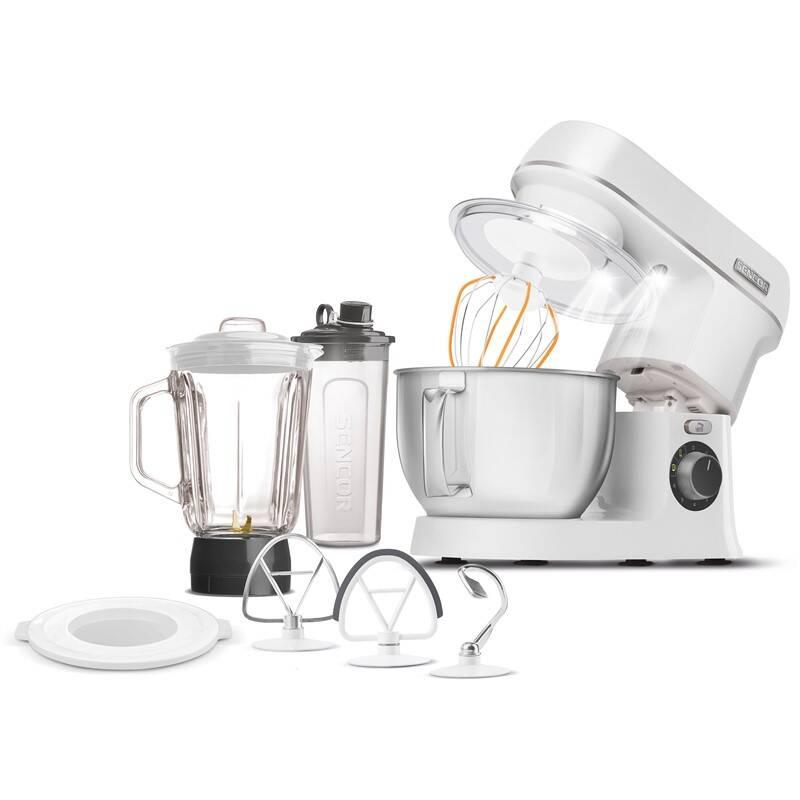 Kuchynský robot Sencor STM 3750WH-EUE3 biely + Doprava zadarmo