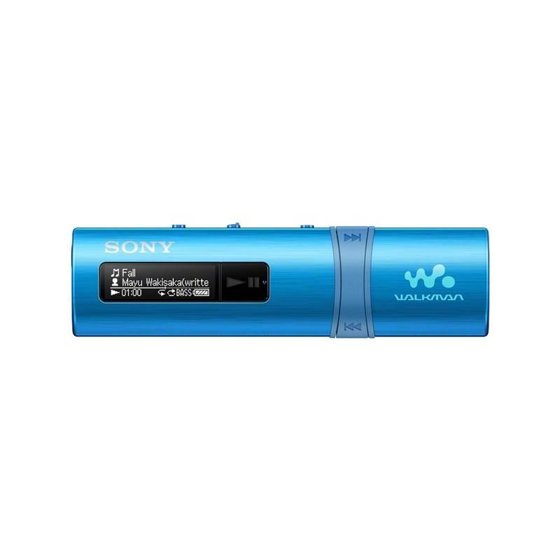MP3 prehrávač Sony NWZ-B183FL modrý
