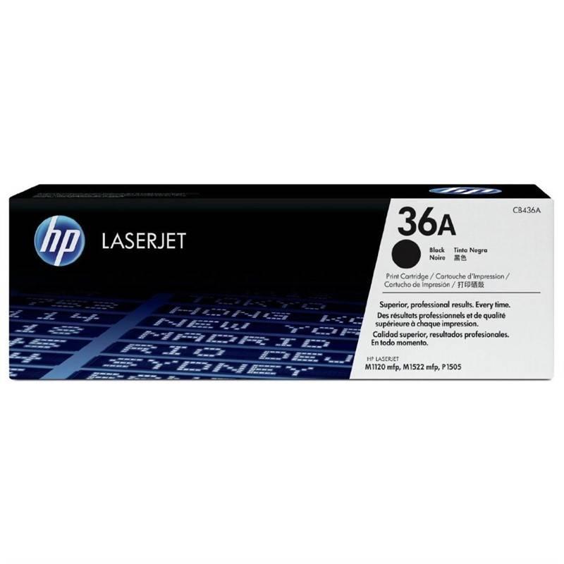 Toner HP 36A, 2000 stran (CB436A) čierny + Doprava zadarmo
