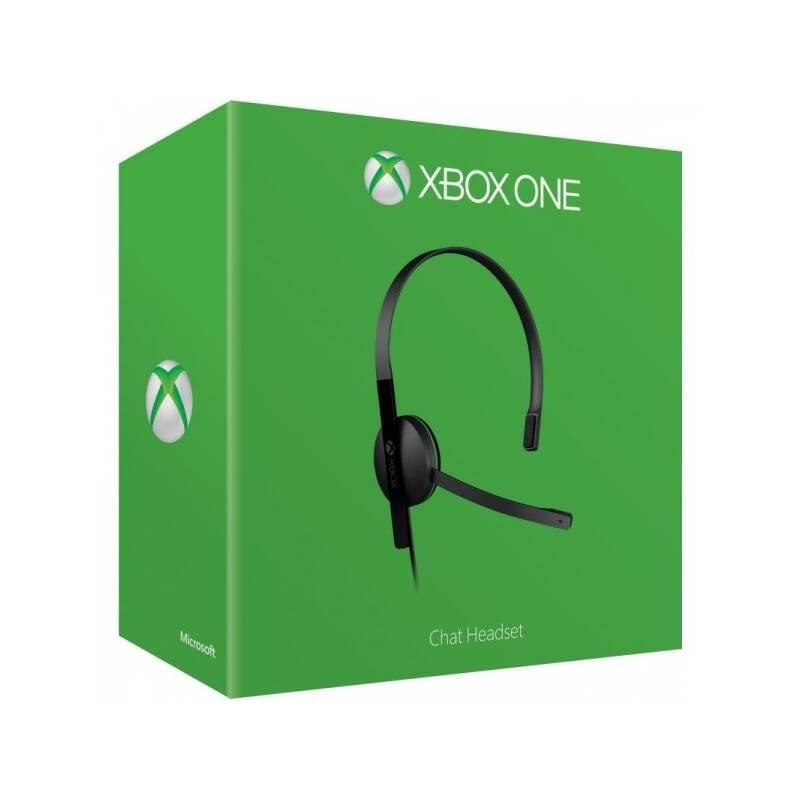 Príslušenstvo pre konzole Microsoft Xbox One Chat Headset (S5V-00015)