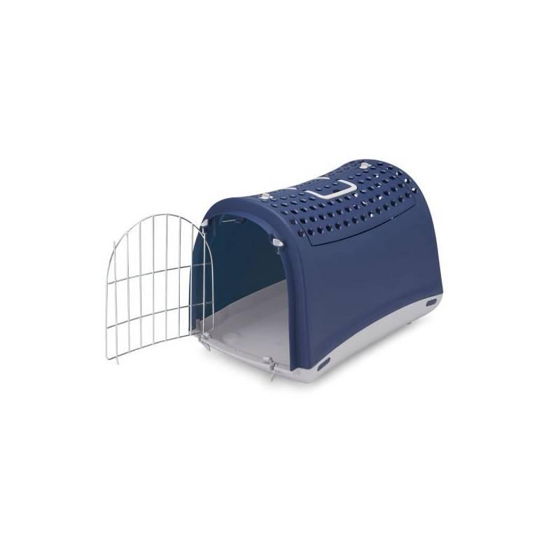 Prepravka Argi pro kočky a psy Cabrio 50 x 32 x 34,5 cm modrá