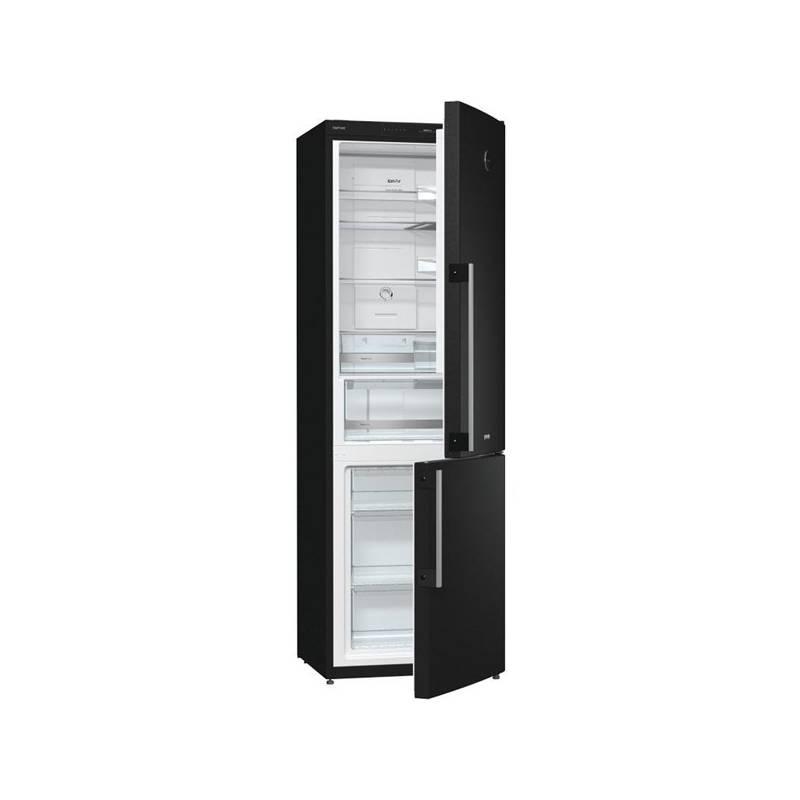 Kombinácia chladničky s mrazničkou Gorenje Simplicity RK62FSY2B čierna + Doprava zadarmo