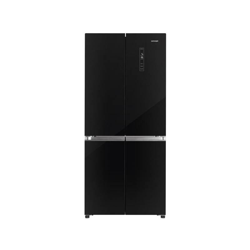 Americká lednice Concept LA8783bc černá