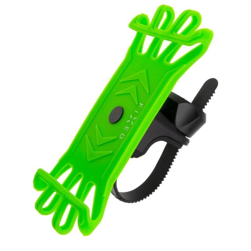 Držiak na mobil FIXED Bikee univerzální držák na kolo - limetkový (FIXBI-LI)