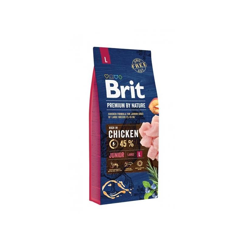 Granule Brit Premium Dog by Nature Junior L 15 kg