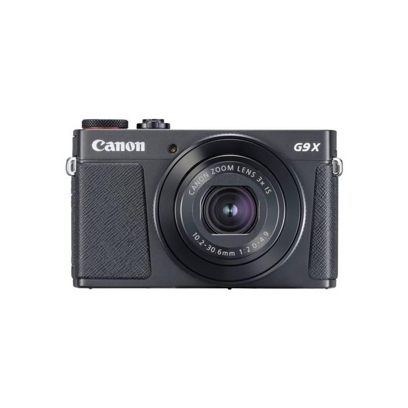 Digitálny fotoaparát Canon PowerShot PowerShot G9 X Mark II Black (1717C002) čierny Pouzdro foto Canon DCC-1890 - pro PowerShot G9X/G9X MII (zdarma)