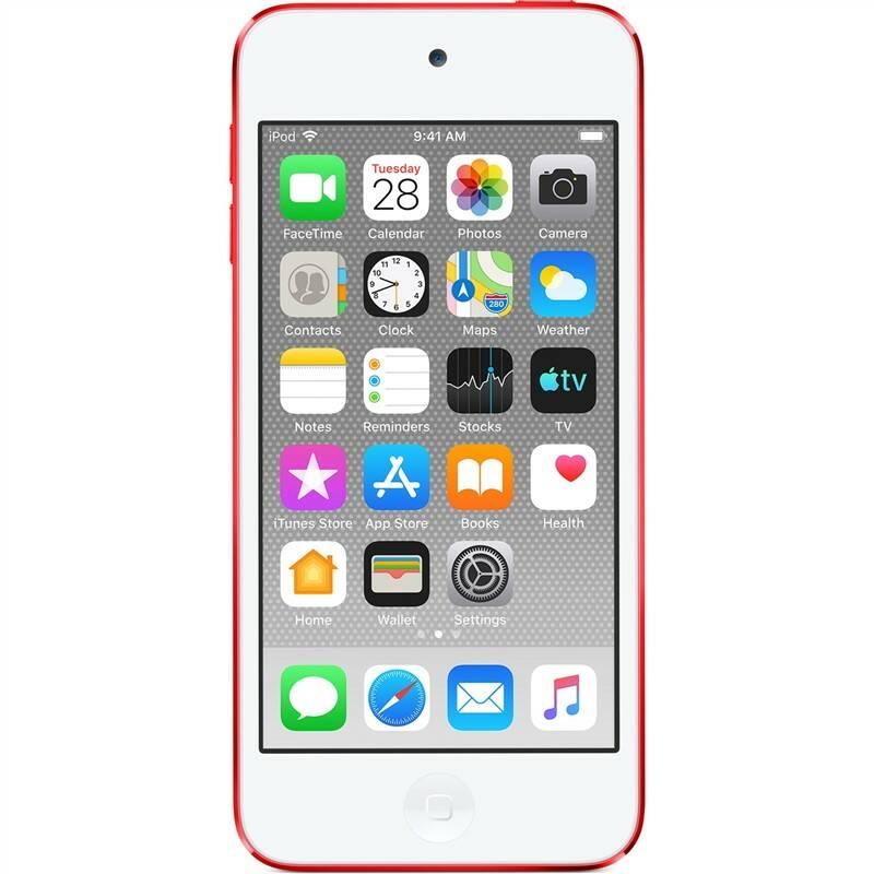 MP3 přehrávač Apple iPod touch 32GB (MVHX2HC/A) červený