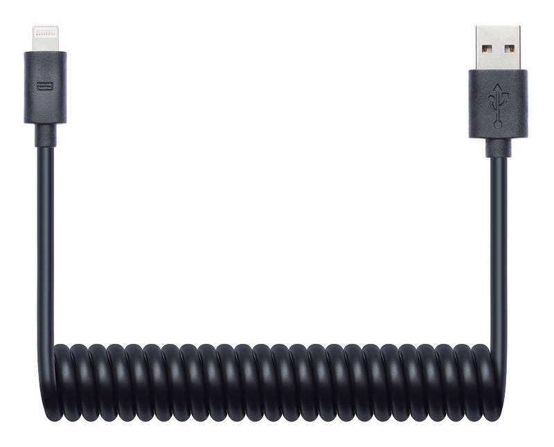 Kábel Connect IT Wirez USB/Lightning, 1,2 m (CI-682) čierny
