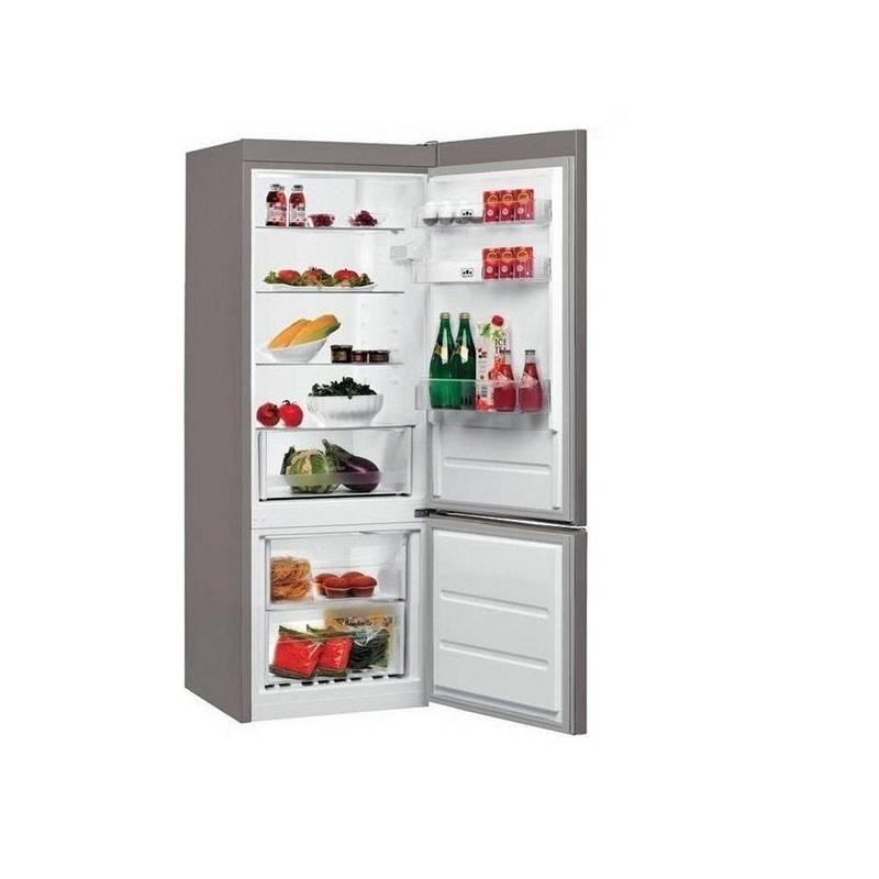 Kombinácia chladničky s mrazničkou Whirlpool BLF 5121 OX nerez + Doprava zadarmo