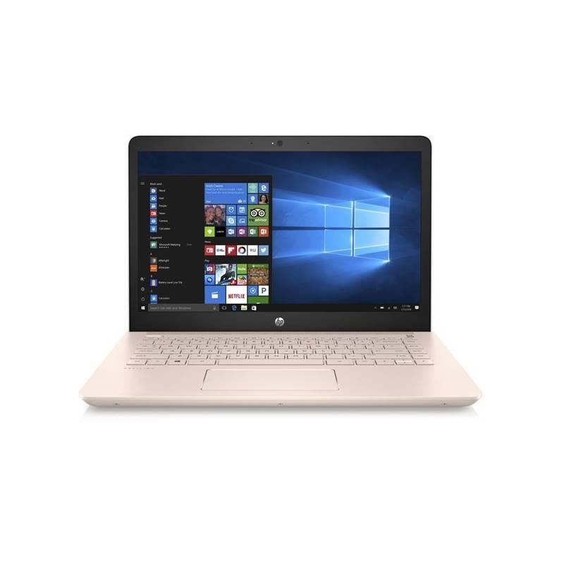 Notebook HP Pavilion 14-bk004nc (1UY58EA#BCM) strieborný/ružový Software F-Secure SAFE, 3 zařízení / 6 měsíců (zdarma) + Doprava zadarmo