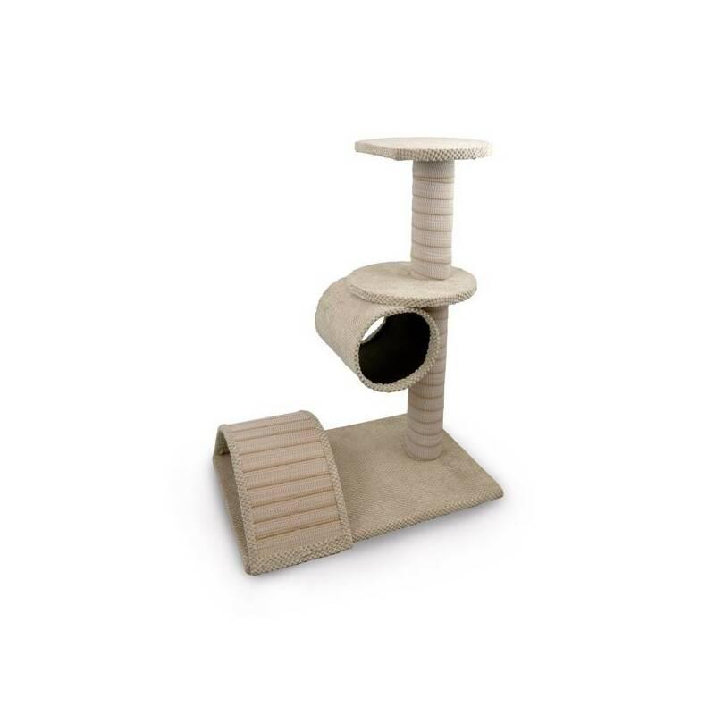 Škrabadlo Argi pro kočky Becca béžové - 80 x 40 x 60 cm