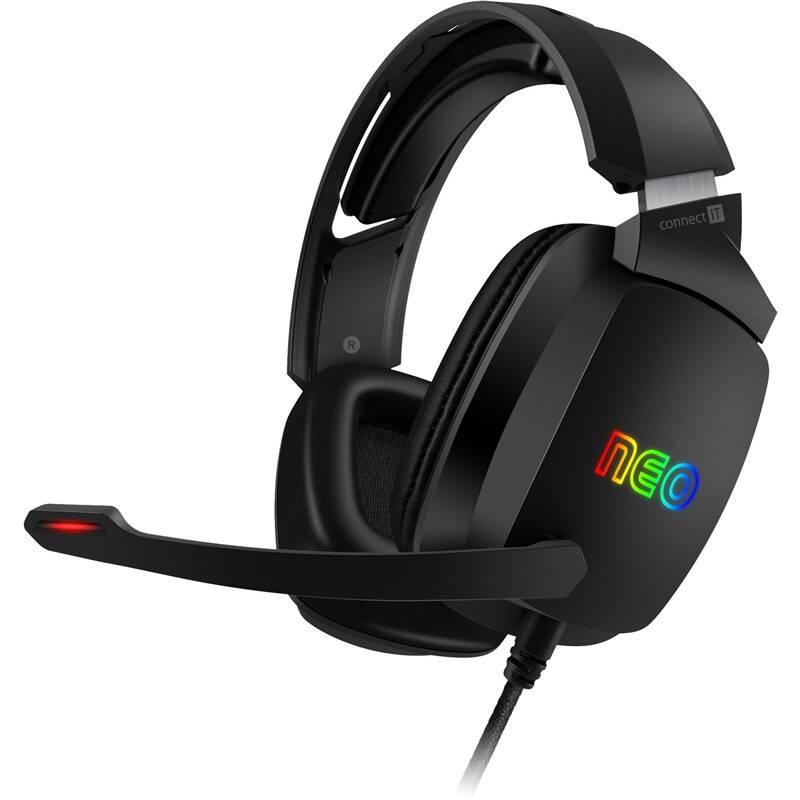 Headset Connect IT NEO (CHP-3590-BK) čierny