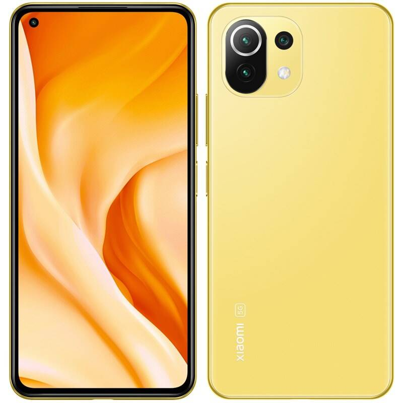 Mobilný telefón Xiaomi Mi 11 Lite 5G 8GB/128GB - Citrus Yellow (32420)