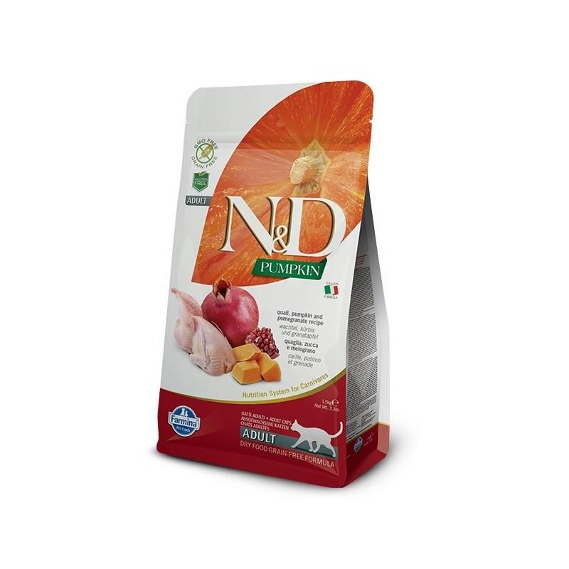 Granule N&D Grain Free Pumpkin CAT Quail & Pomegranate 1,5 kg