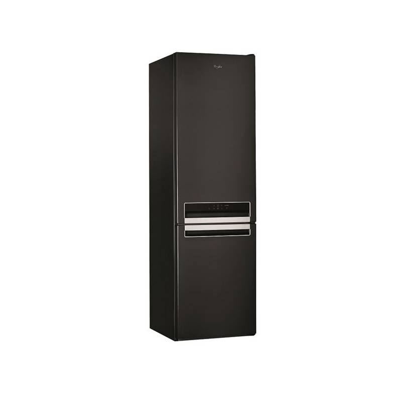 Kombinácia chladničky s mrazničkou Whirlpool BSNF 9432 K čierna + Doprava zadarmo