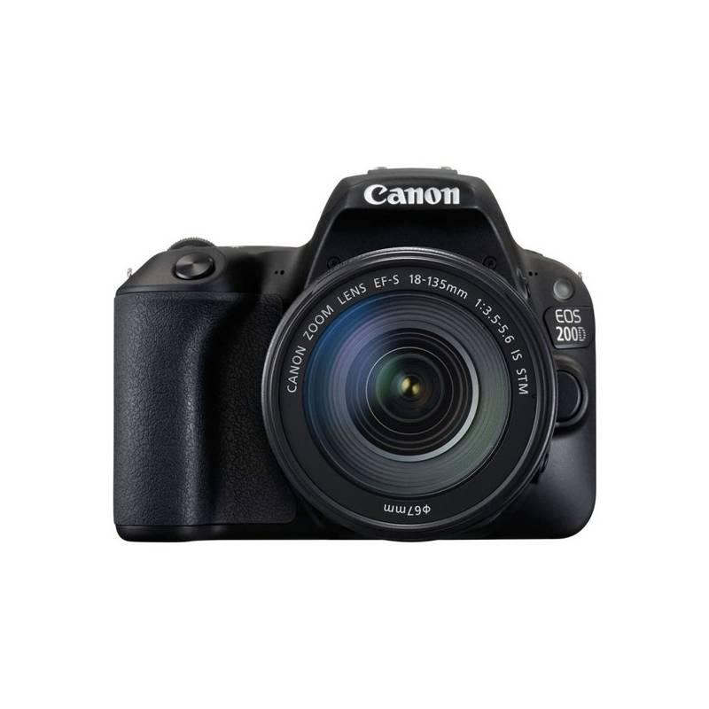 Digitálny fotoaparát Canon EOS 200D + 18-135 IS STM (2250C028) čierny